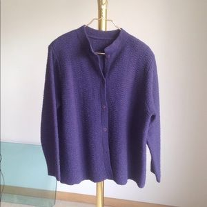 Eileen Fisher beautiful Cardigan in Lavender color